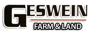 Ed Geswein Farm and Land  New Office Location Geswein farm and land logo