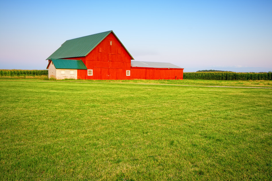 Indiana Farmland farms for sale Farms for Sale red barn